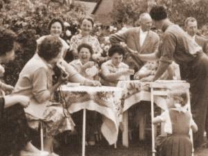 Bereits vor über 50 Jahren wurden die ersten Sommerfrischler im Landhaus Kappen empfangen.
