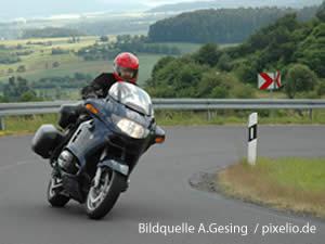 Motorradfahren im Sauerland