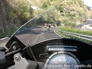 Motorrad-Cockpit